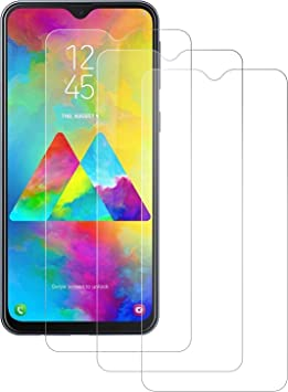DASFOND [3-Pack Protector de Pantalla para Samsung Galaxy M20, Cristal Templado para Samsung M20, Vidrio Templado Dureza 9H, Sin Burbujas, Anti Rasguños, 3D Touch Compatibles: Amazon.es: Electrónica
