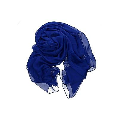 Aqua di Mare Foulard/paréo femme étole robe de plage bleu VL399