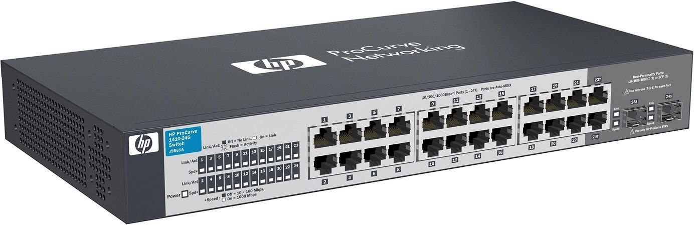 HP 24-Port Switch, Unmanaged (J9561AS#ABA)