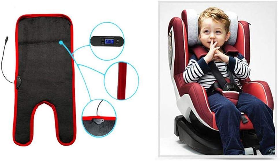 iB/àste Auto Baby beheiztes Sitzkissen Safe Thermostat Heizkissen f/ür Kindersitz