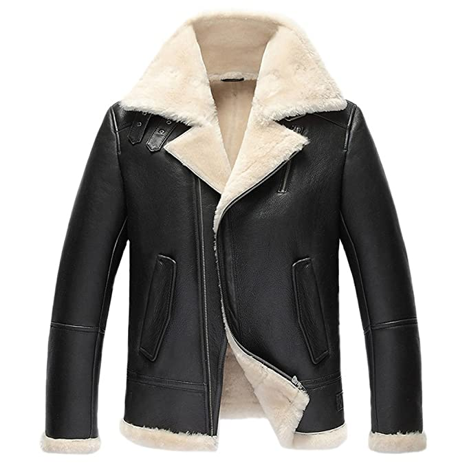 Amazon.com: De los hombres Shearling perchero de pared de ...