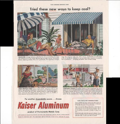 kaiser-aluminum-permanente-metals-corp-air-conditioners-venetian-blinds-awnings-1948-vintage-antique