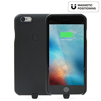 best sneakers ffa8e 8d60e BEZALEL Latitude Qi Wireless Charging Case for iPhone 6 6S (not for 6  Plus/6S Plus) Compatible with GM Yukon, Chevy Tahoe Silverado, Cadillac,  BMW, ...