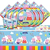 Entertainment One BPWFA-104 Peppa Pig Table Set for 16