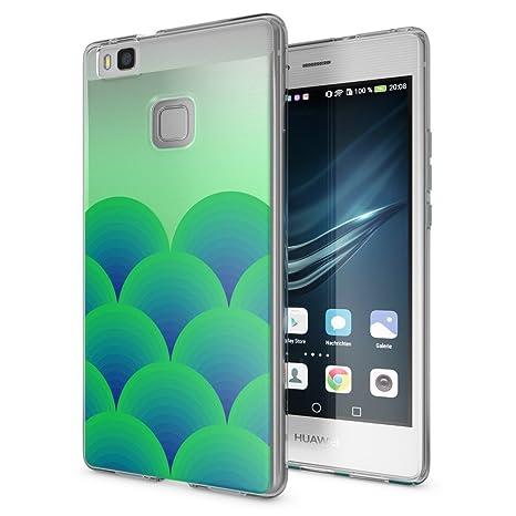 NALIA Funda Carcasa para Huawei P9 Lite, Protectora Movil TPU Silicona Ultra-Fina Gel Transparente/Cubierta Goma Bumper Cover Case Cristal Clear para ...