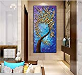 baccow -- 3D Blossom Trees Handmade Abstract Wall