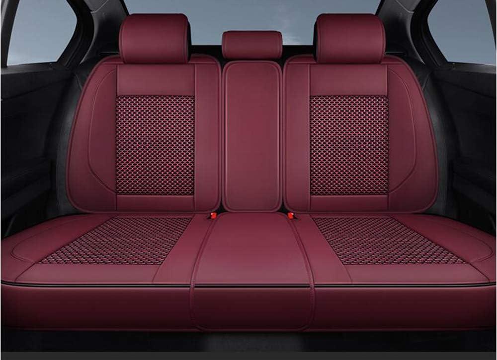 Grand-Cherrokee,Rot,Compass QCZD88 Autositzbezug Patriot kompatibel mit Jeep Renegade Cherokee Kompass Wrangler