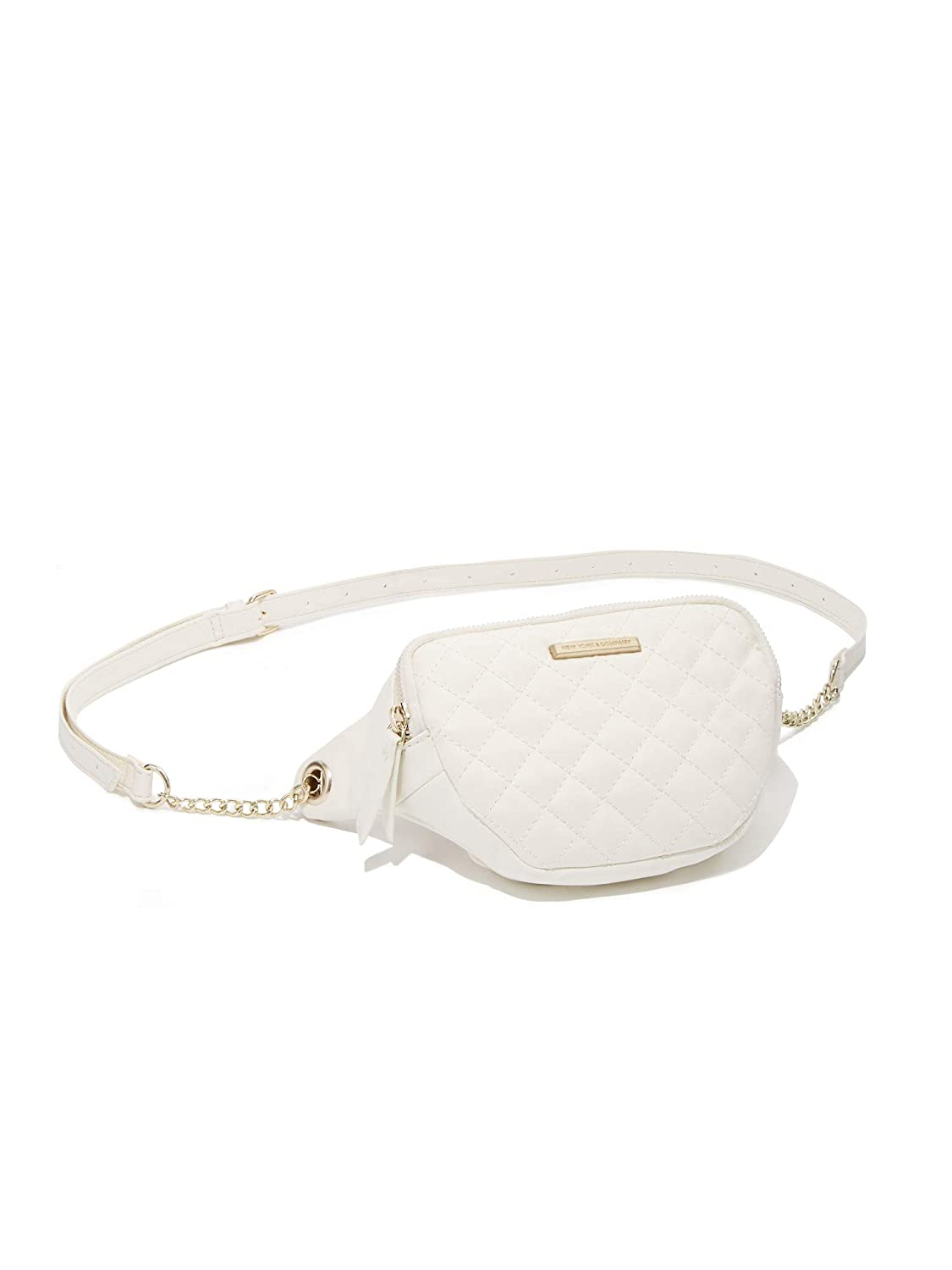 New York /& Co Womens Quilted Fanny Pack