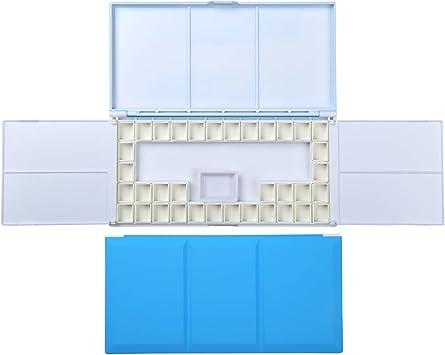 Multifunctional Watercolor Paint Color Box  Light Paint Box Folding Palette