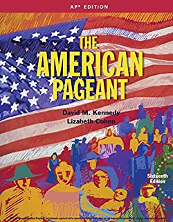 The american pageant a history of the republic 12th edition.