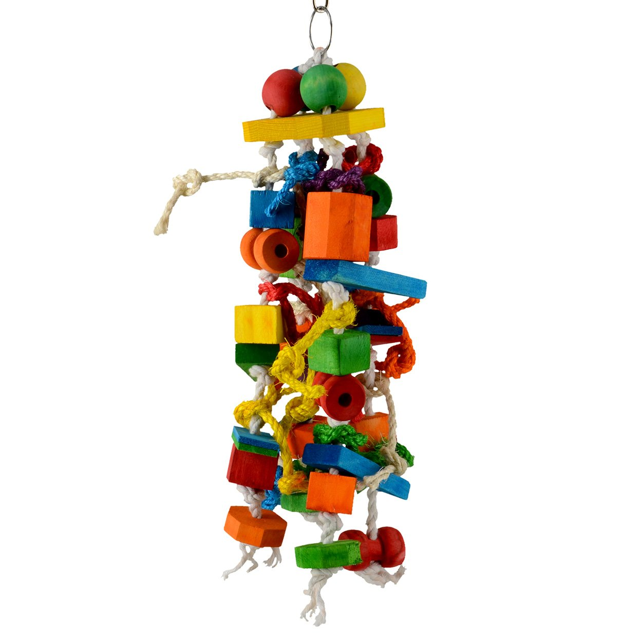 Animal Treasures LBW-0812 Birdie Crazy Creation Bird Toys
