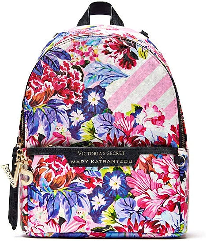 Victoria's Secret Mary Katrantzou backpack Small City Designer collection fashion Show