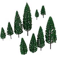 10pcs 1.9 Pulgadas - El Modelo De árboles