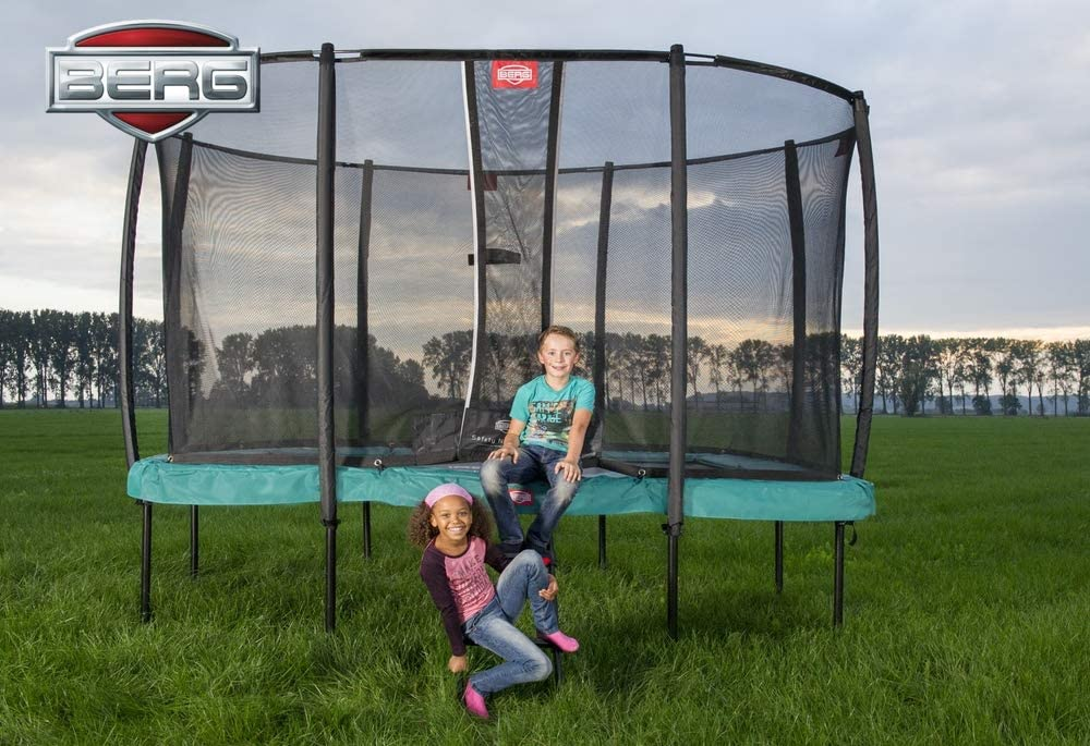 BERG Ultim Champion Regular 330 Trampoline + Safety Net Deluxe ...