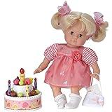 Schildkröt 6252032300 - Schlummerle, Die Geburtstagsprinzessin, Babypuppen