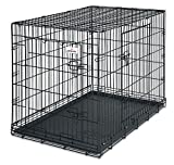 Petmate 43-Inch 2-Door Training Retreats Wire Kennel for Dogs, 90 to 125-Pound