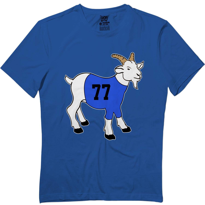 Luka77 Basketball Great Dallas Love Donnic Goat Tshirt