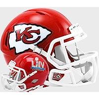 $39 » Kansas City Chiefs Super Bowl 54 LIV Champions Revolution Speed Mini Football Helmet