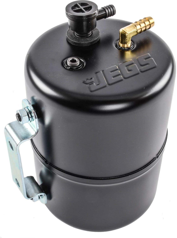 COMP Cams Vacuum Reservoir Aluminum Black Finish with Check Valve//Hardware Each