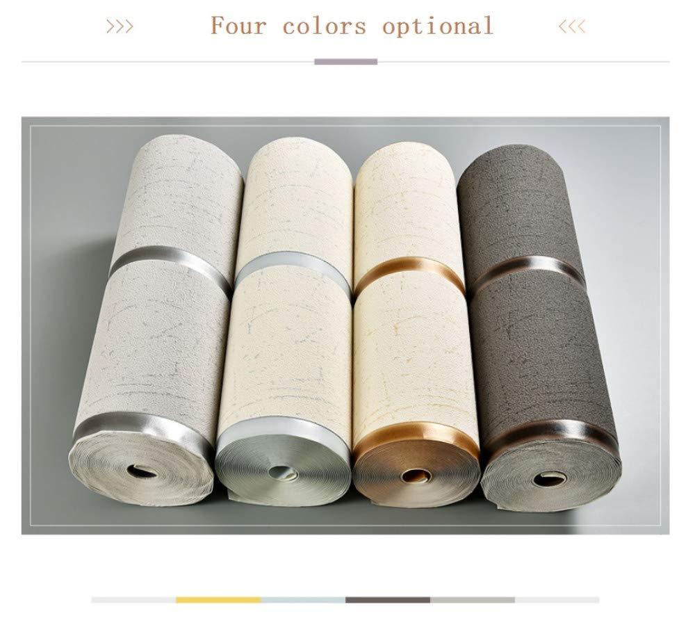 Murales papel pintado Raya de m/ármol gris plata no tejido papel de pared dormitorios sal/ón hotel fondo de TV elegante moderno fine decor