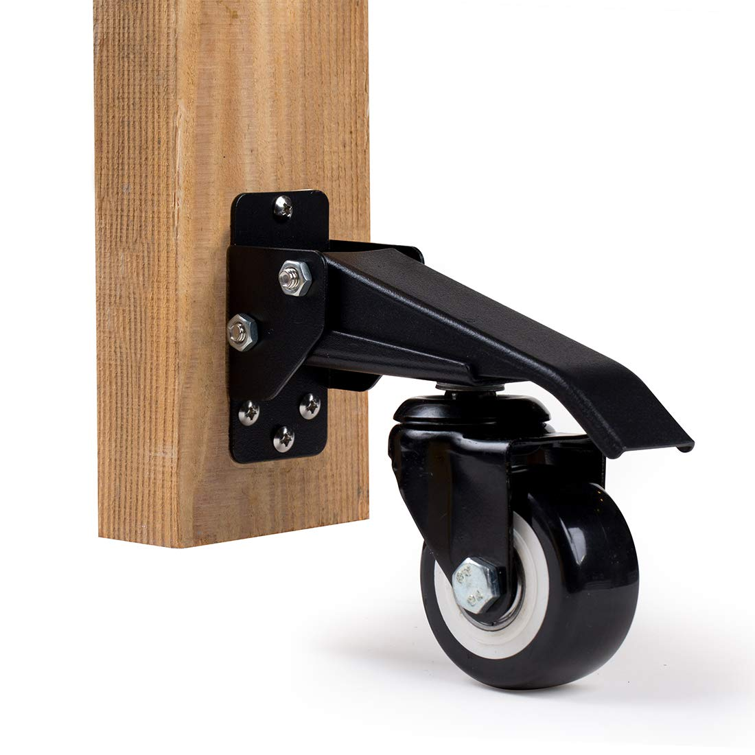 EASYTECH Workbech Stepdown Caster Kit, Set of 4