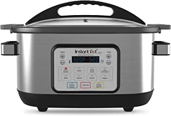 Instant Pot 6 Quart Aura Multi-Use Programmable Slow Multicooker