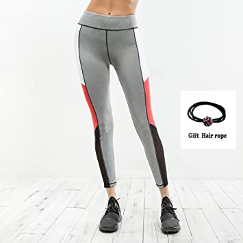 cheap for discount 7f3a3 aad16 Huoduoduo Leggings Sportivi da Donna, Leggings Aderenti ...