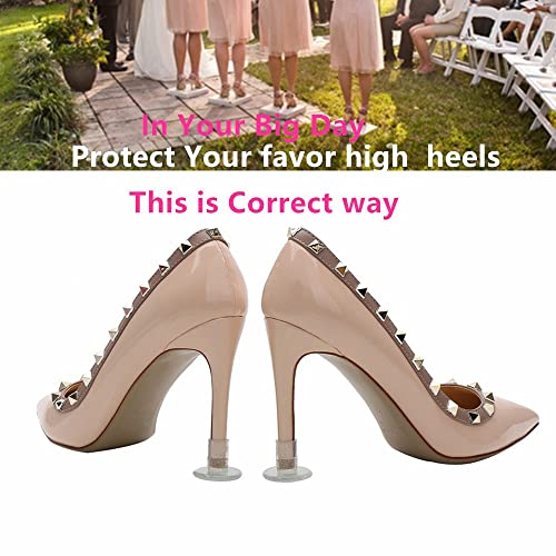 58c64637a Image Unavailable. Image not available for. Color: Heel protectors/stoppers  for high heel stops pump shoe in sinking in grass ...