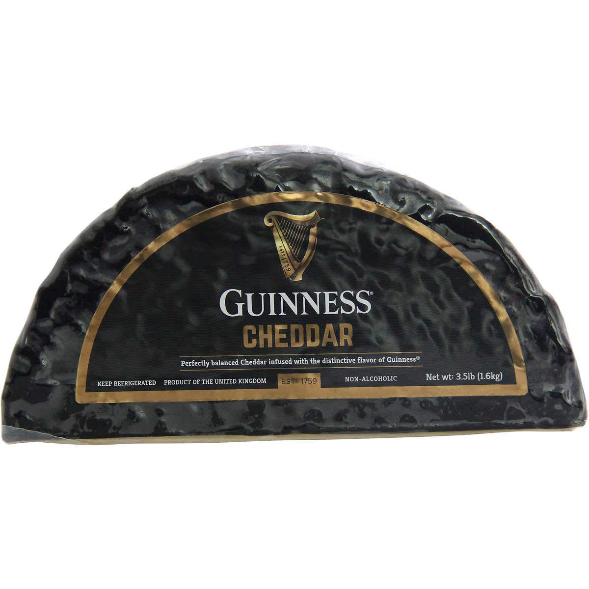 Guinness Cheddar Cheese, 3.5 lbs