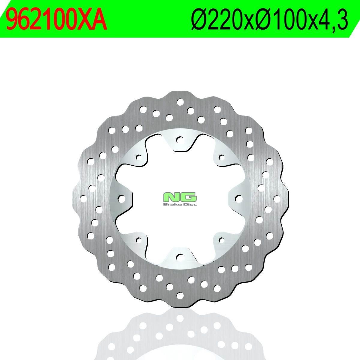 NG BRAKE DISC - 962100XA : Disco de freno NG 100XA Ø220 x ...