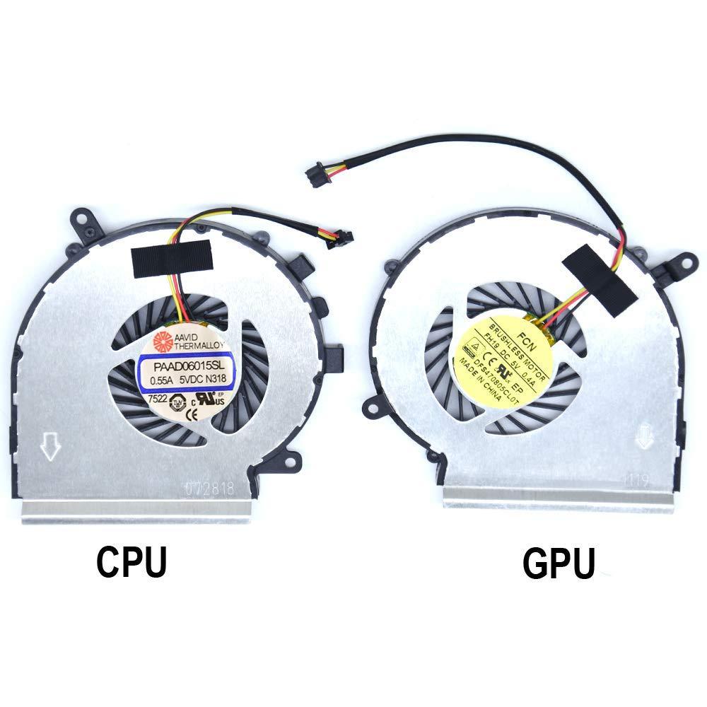 Cooler Gpu 3-cables Para Msi Ge62 Ge72 Pe60 Pe70 Gl62 Gl72 Para Part Number: Paad06015sl
