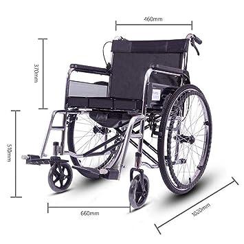 Silla De Ruedas Plegable Silla De Ruedas Para Ancianos, Silla De Ruedas De Aluminio,