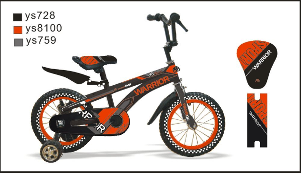 CTBIKES WARRIOR BMX KIDS BIKES Red Available in Size 14