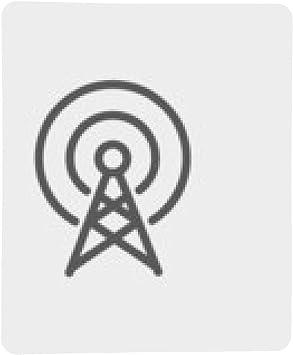 alfombrilla de ratón Antena icono de línea delgada: Amazon.es ...