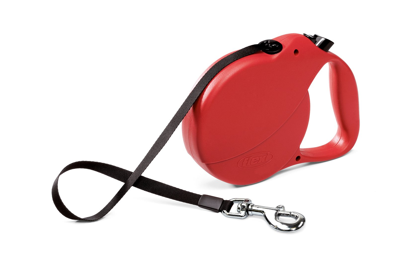 Flexi Explore Retractable Belt Dog Leash , Large, 26-Feet Long, Supports up to 110-Pound, Red