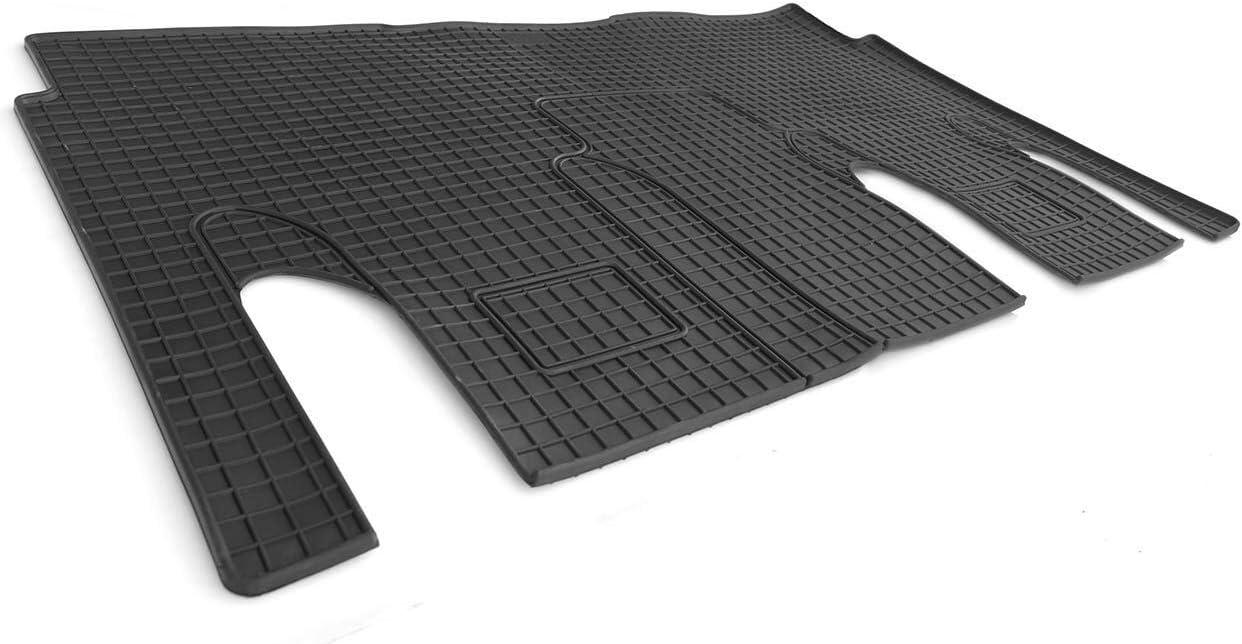 1.Sitzreihe Fahrgastraum kh Teile Gummimatte Vito V-Klasse W447 Gummi Fu/ßmatte