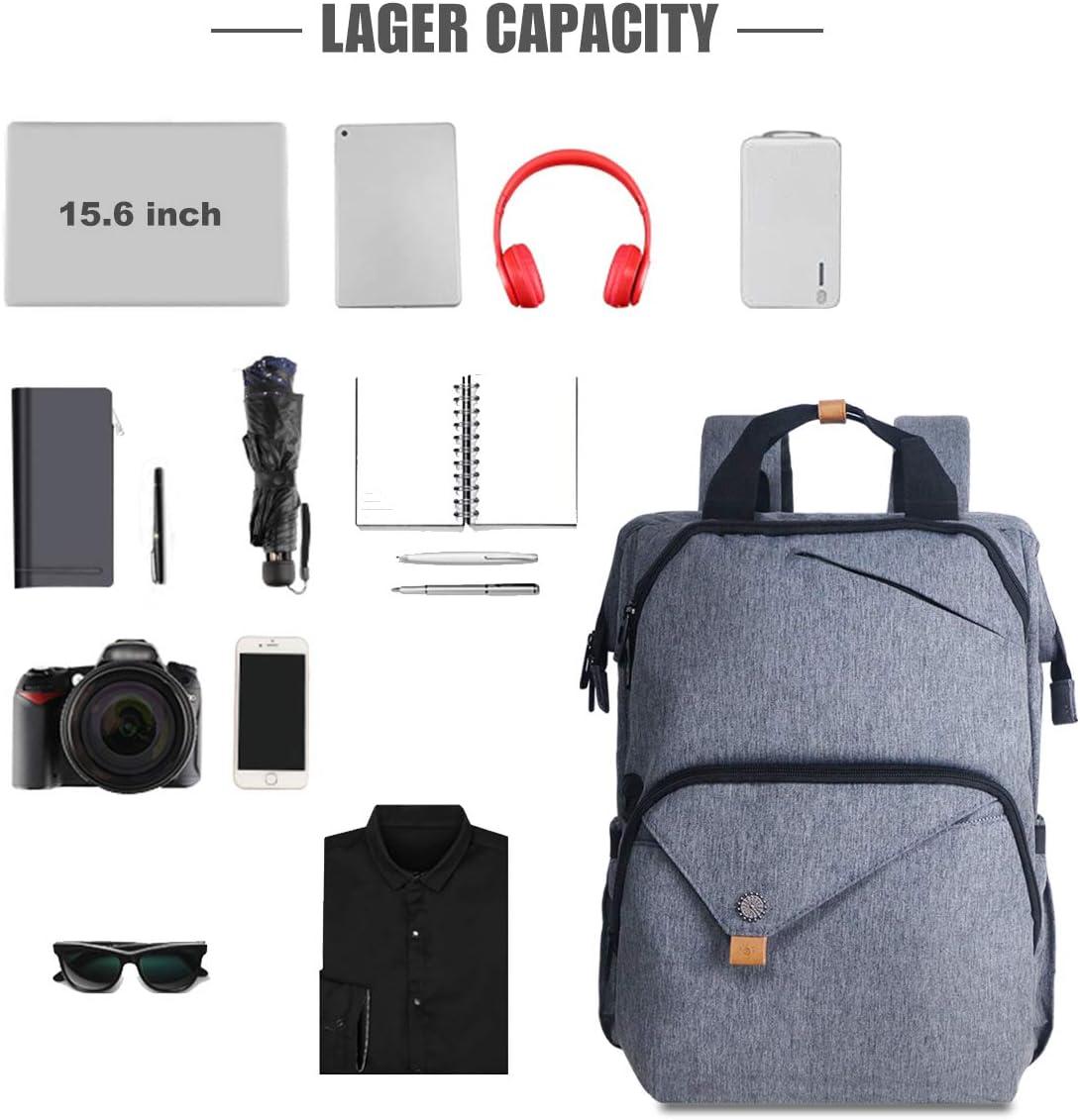 Travel Backpack Laptop Backpack for Women Men, Large Slim Backpack for Women Fits up to 15.6 Inch Computer, Computer Backpack for Laptops 7651BG