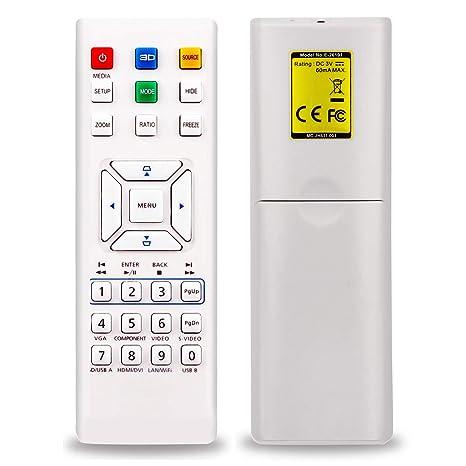 Aimple - Mando a Distancia para proyector Acer H5380BD H6510BD ...