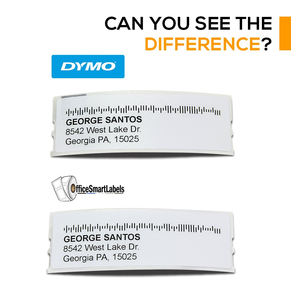 Dymo Compatible 30252-1-1/8'' x 3-1/2'' Address Labels (006 Rolls - 350 Labels Per Roll) by OfficeSmartLabels (Image #6)