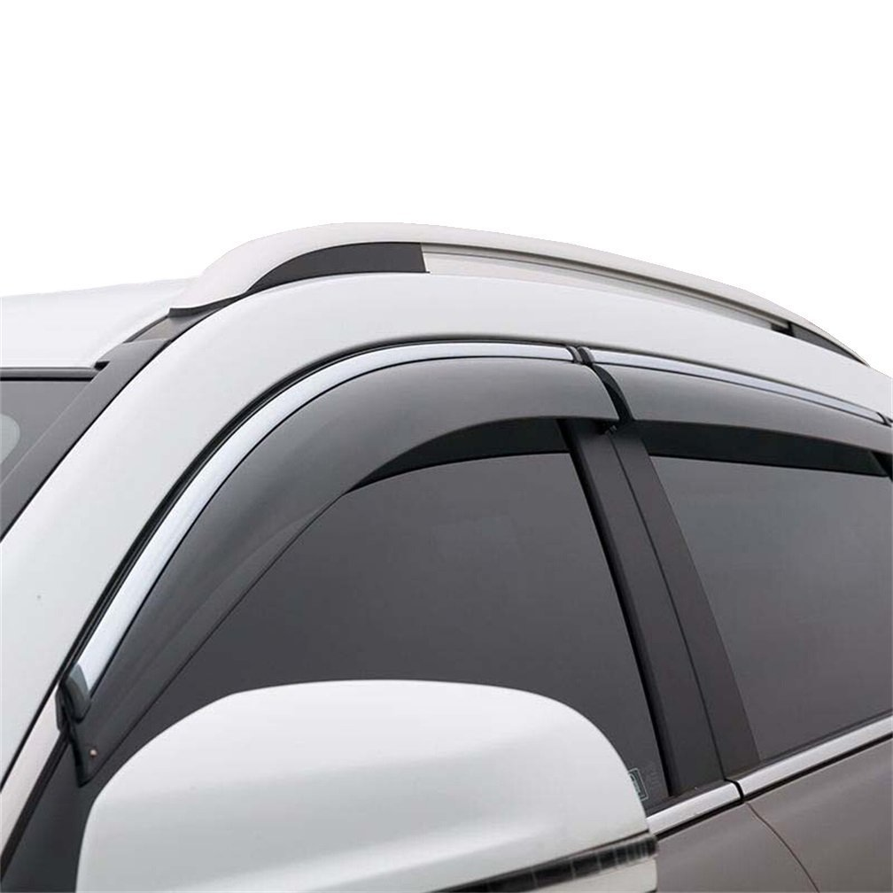 Vesul Updated Side Window Visor Vent Rain Guard Wind Deflectors Sun Shade Smoke Gray Fits on Kia Sorento 2016 2017 2018 2019 2020 by Vesul