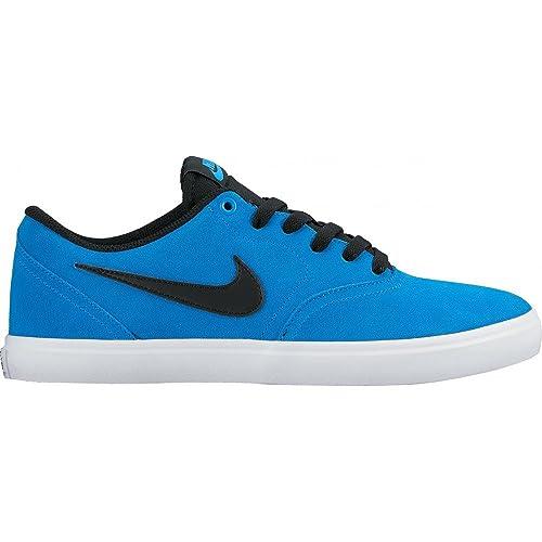 Nike SB Check Solar, Zapatillas de Skateboarding para Mujer, Azul (Photo Blue/Black), 36 EU: Amazon.es: Zapatos y complementos
