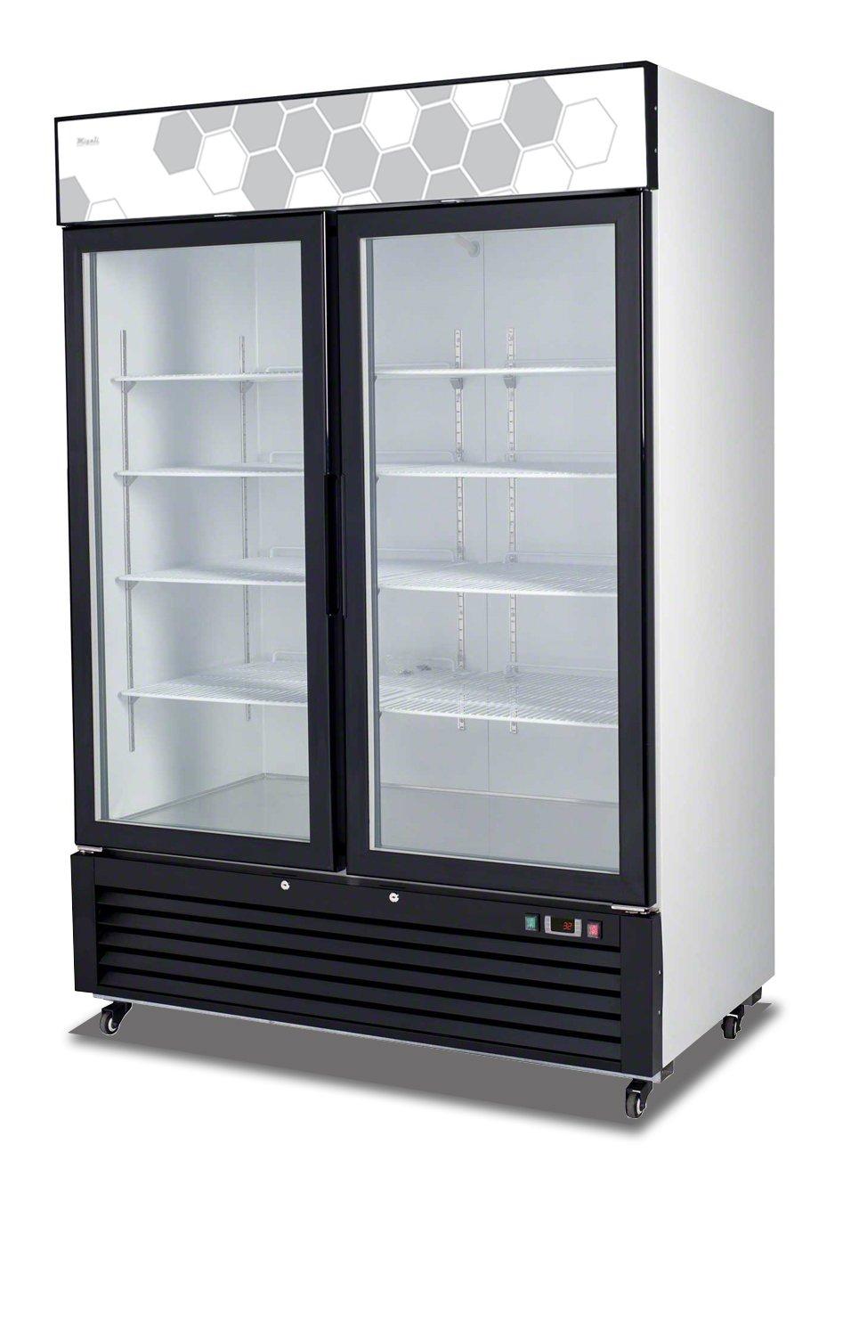 Migali C-49FM 49cu/ft Glass Door Merchandiser Freezer