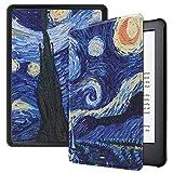 Billionn Funda [Auto-Sueño/Estela] para Amazon Fire Kindle 10ª Generación (2019 Publicado) E-Reader 6 Pulgada, La Pintura de Van Gogh