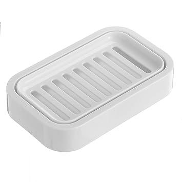 Amazon Com Uviviu Soap Dishes For Bathroom Accessories Plastic