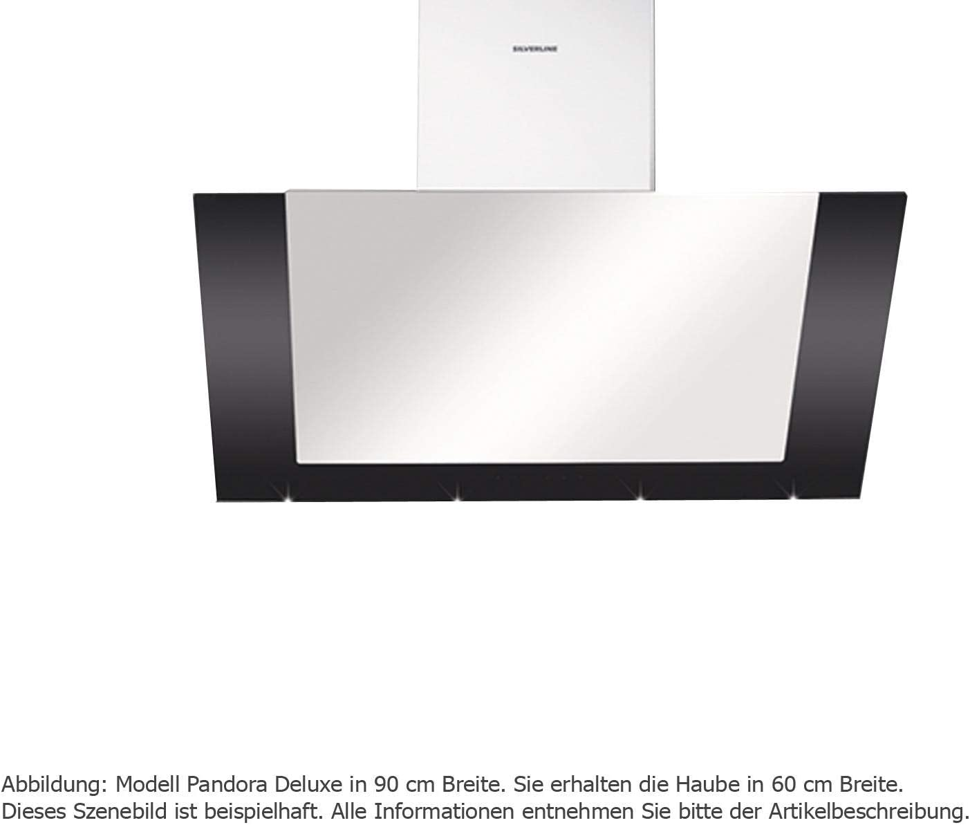 Silverline PAW 685.1 SE Pandora Deluxe - Campana extractora de pared (59,6 cm)