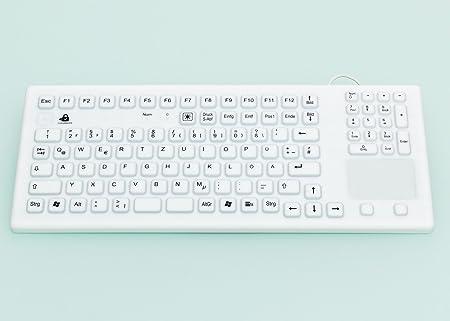 InduKey kg22314 teclado silicona 107 teclas con cable USB ...