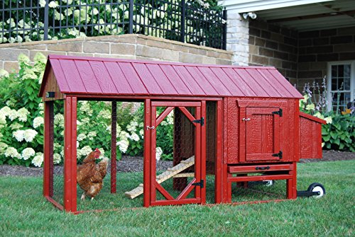 Red chicken coop the pet furniture store for Red chicken coop