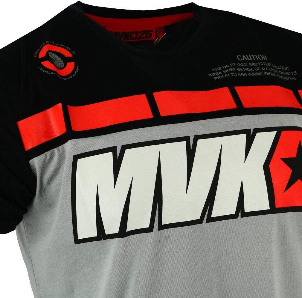 Maverick Vinales 25 Moto GP Panel Gris Camiseta Oficial Nuovo