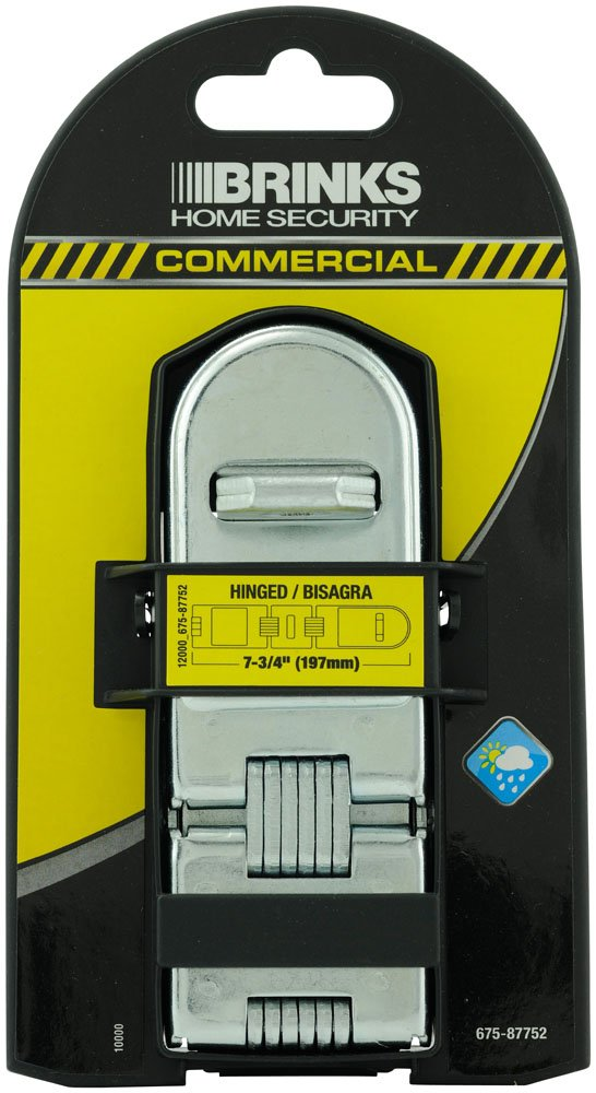 Brinks 675-87752 Commercial 7.75-Feet Double Hindge Hasp