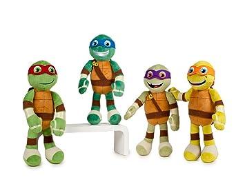 Peluche Tortugas Ninja Half Shell Heroes Soft T1 19cm